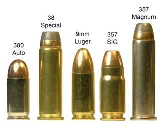 Calibres arma backup