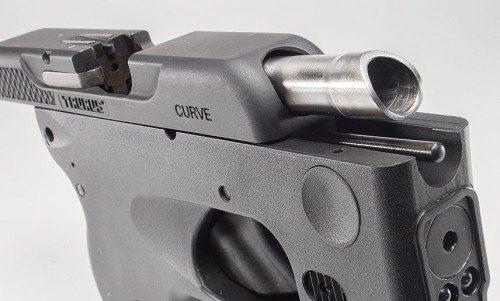 Cañón biselado pistola Turus Curve