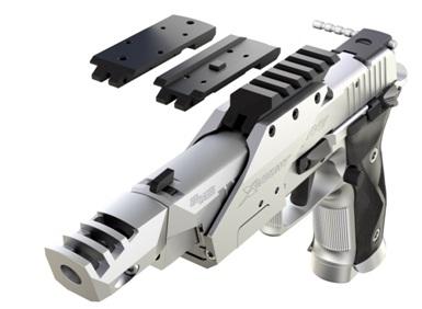 La modularidad es extrema en esta nueva serie de pistolas. Además de mejorar de la ergonomía, ofrecen posibilidades prácticamente ilimitadas para personalizar y optimizar el rendimiento saciando cualquier necesidad específica del usuario.