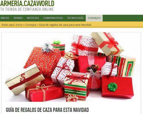 Armería Cazaworld te ayuda a elegir tus regalos para esta Navidad