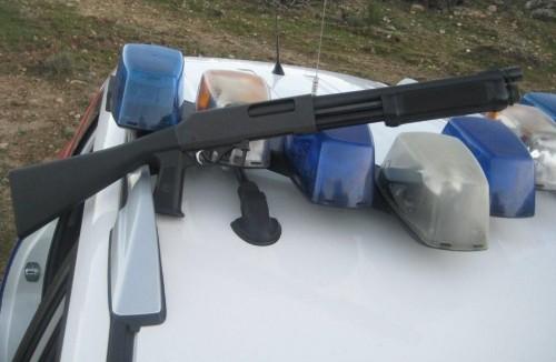 Escopeta policía española