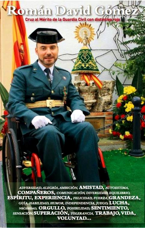 Cruz al mérito de la Guardía Civil con distintivo rojo