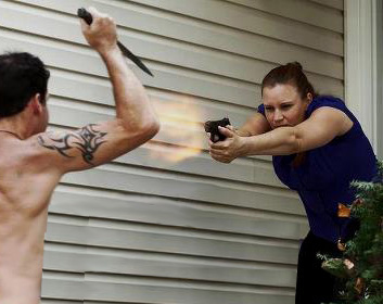 violencia con armas de fuego