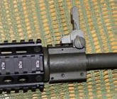 gas block con rail para fusil ar15