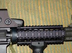 guardamanos táctico para el fusil AR 15
