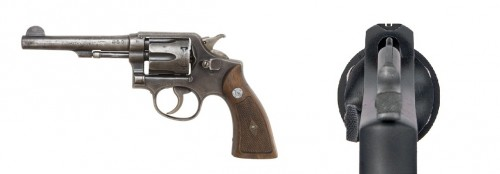Revolver Smith and Wesson-Military and Police