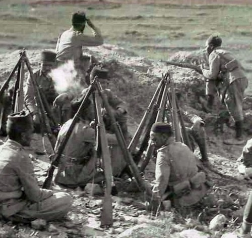 Los fusiles Mauser modelo español.
