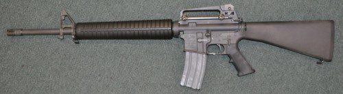 """AR 15 del fabricante americano Colt dotado de cañón de 20"""""""