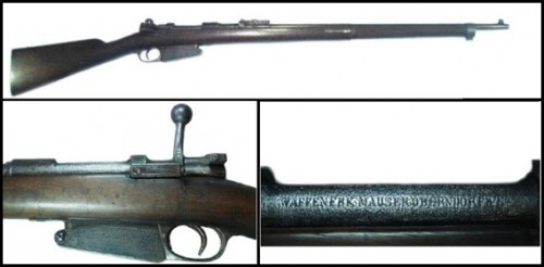 "Fusil ""Spanien M.91"" o Mauser M.1891-92"