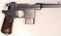 Pistola Bergmann de 9 mm Modelo 1903