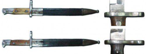 cuchillos-bayoneta españoles M.1893
