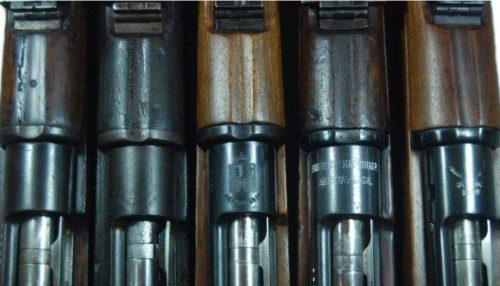 Ejemplares de Fusil Mauser Español M.1893,