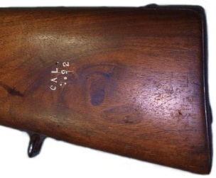 Marcajes culata rifle mauser