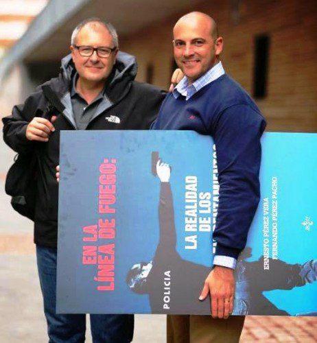 Ernesto Pérez Vera y Fernando Pérez Pacho, autores del libro.