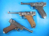 Pistola Luger para tiro deportivo