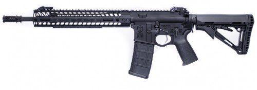 """""""El Cruzado"""", un rifle anti terroristas musulmanes."""
