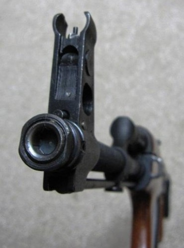 boca de fuego fusil PA Md.86 (Rumanía)