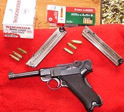 mejor munición para pistola Luger