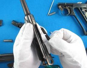 desmontar pistola Luger