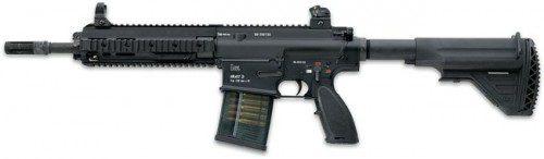 versión de HK417 rifle con 12  versión básica