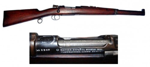 Carabina Mauser Español M.1893