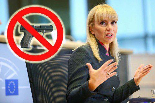 Elzbieta Bienkowska prohibición armas europa