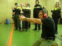 PRACTICAS DE TIRO POLICIAL
