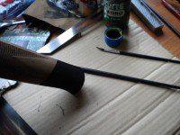pintar imitación puntal rifle blaser