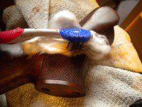 restauración de los picados rifle
