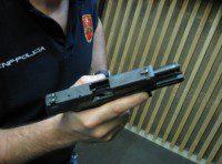 recarga o cambio de cargador pistola