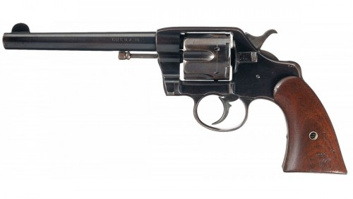 Revolver Army Modelo 1892 del calibre .38 Long Colt