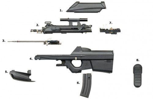 Despiece del FN 2000