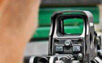 visor holográfico escopeta táctica