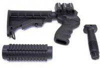 pistolete culata y grip escopeta táctica