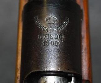 Mauser Español Modelo 1893 fabricado en el año 1900 en la fáfrica de armas de Oviedo