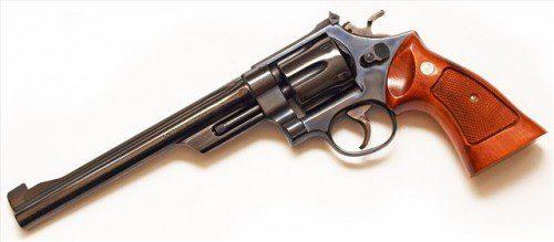 """Smith&Wesson Modelo 27 con cañón de 8"""""""