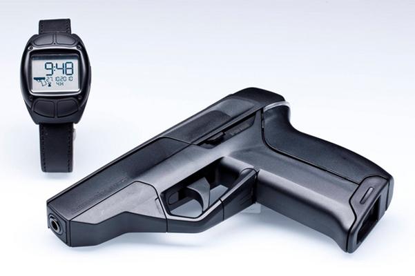 Armatix iP1del calibre .22 pistola inteligente