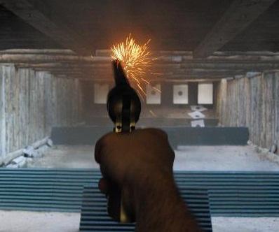 Nuestro primer disparo con un revólver de avancarga