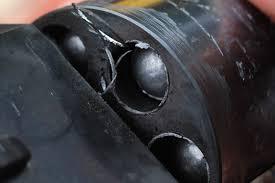 anillo de plomo alveolo revólver avancarga racarga tambor