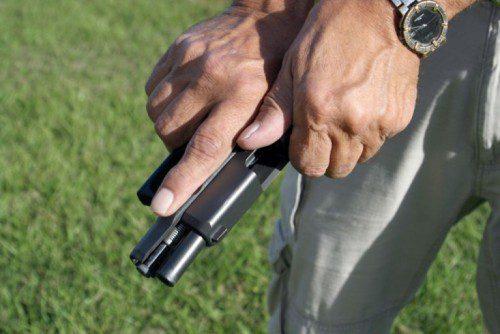 tirar corredera pistola, condición de porte 3