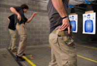 entrenamiento policial campo de tiro