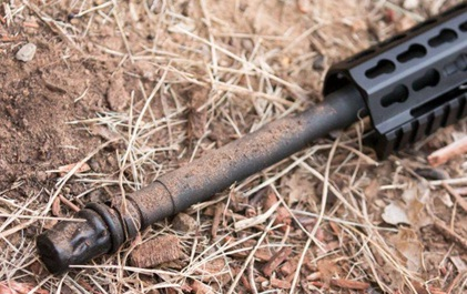 Condones para tu AR15 polvo canón fusil