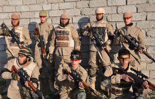 francotiradores del autodenominado Estado Islámico ISIS