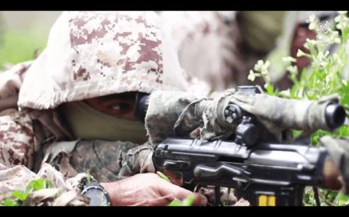 SVD Dragunov ISIS