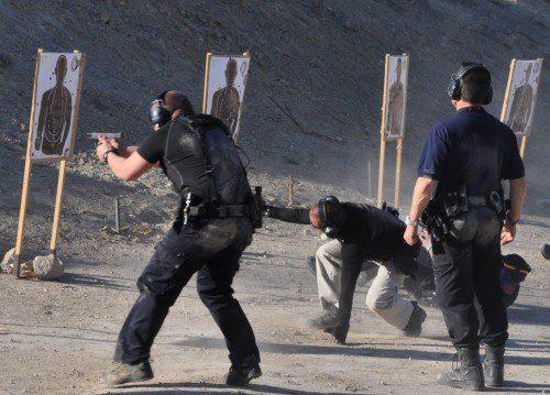 instrucción tiro policial