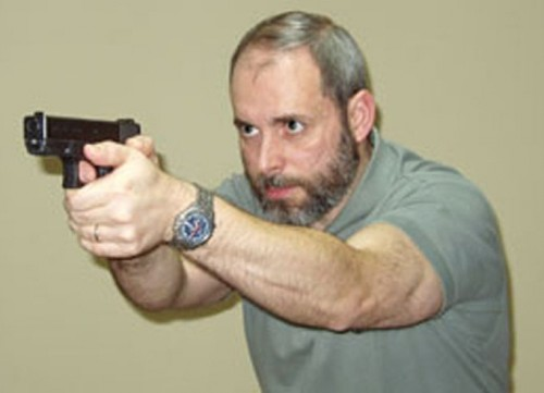 instructor de tiro policial