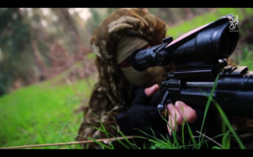 Rifle Remington M24 con visor Trijicon RCO ISIS