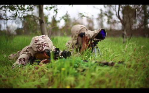binomio de francotiradores ISIS