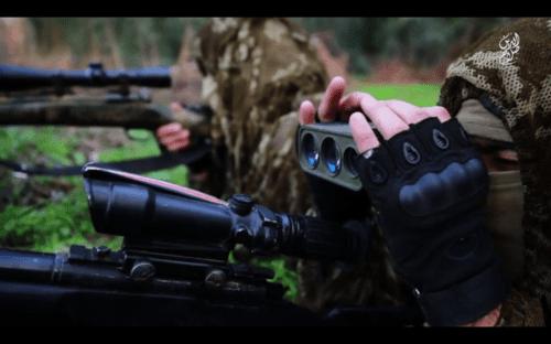 telemetro francotirador ISIS