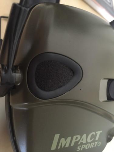 microfono cascos electronicos tiroImpact Sport de Howard Leight